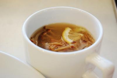 ブラウンえのきのみぞれスープ